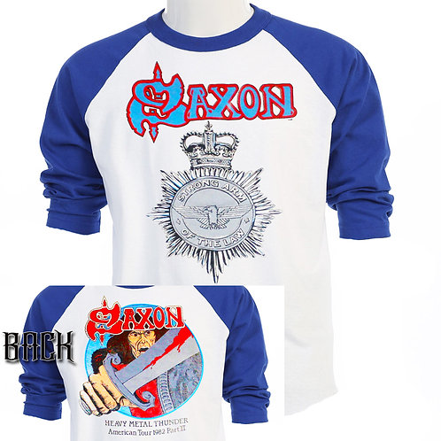 SAXON,Strong Arm of The Law 82 US TOUR T-SHIRT