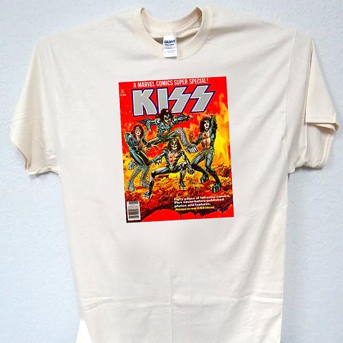 KISS,1st Kiss Comic Book Cover Retro Look , Sizes 3-5xl, T-Shirt T-199Ivy