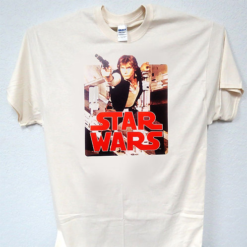 "STAR WARS, ""HAN SOLO"", Old School, Cool, T-Shirt Ivy Sizes: S-5xl T-1508 L@@K"