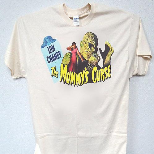 "LON CHANEY ""The Mummy's Curse"" Retro T-SHIRT,S,M,L,XL,2X,3X,4X,T-1047Ivy"