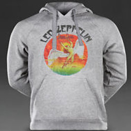 LED ZEPPELIN,Classic 70's Retro, Inspired Hoodie/Pullover ,T-746Grey