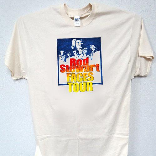 ROD STEWART,Faces Tour, 70's T-SHIRT