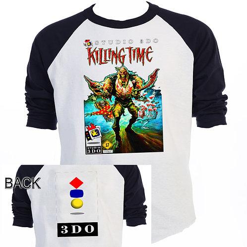 KILLING TIME,3DO,Classic Video Game,Baseball T