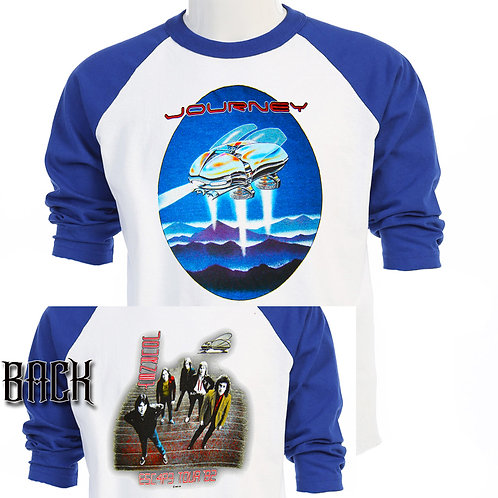JOURNEY Escape Tour RETRO T-SHIRT T-446Blu