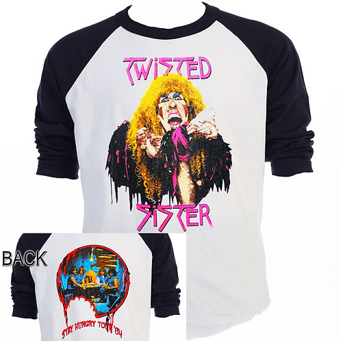 TWISTED SISTER,Stay Hungry 1984 TOUR T-549Blk