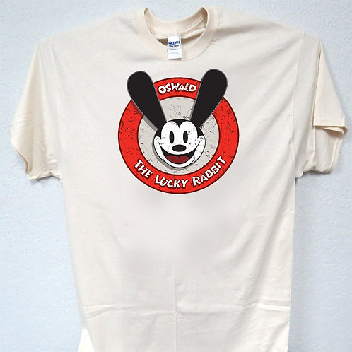 MICKEY MOUSE, OSWALD, DISNEY IVORY, T-SHIRT,Size: S-5XL T-849
