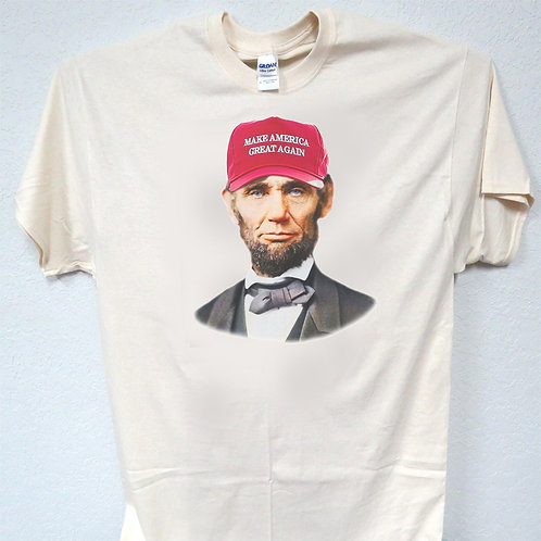 Abe Lincoln, Patriot,MAGA,Trump T-Shirts ALL SIZES,T-1424