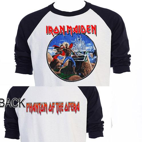 """IRON MAIDEN,""""Phantom of The Opera"""" Tour T-526"""