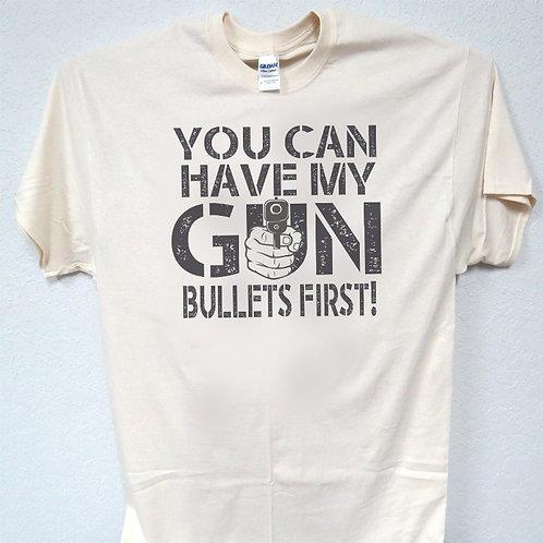 "2nd AMMENDMENT,Gun Grab, TRUMP ""NRA Gun Control""Cool Ivory Men's T-Shirt, T-1540"
