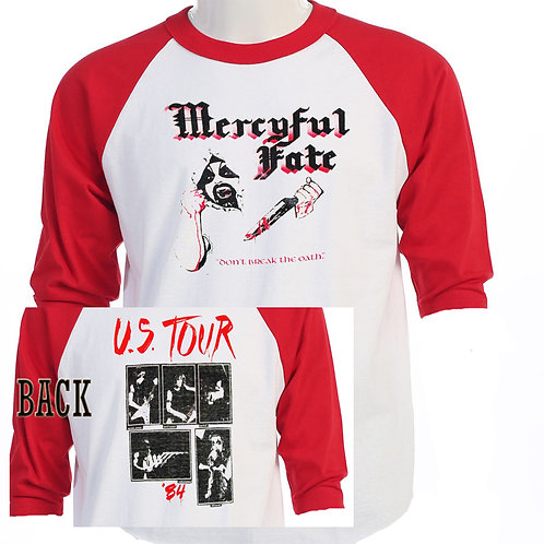"MERCYFUL FATE, ""The OATH"" TOUR CLASSIC T-391"