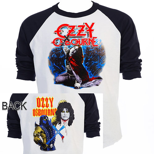"OZZY OSBOURNE,Diary 82 TOUR ""Blizzard Front""696Blk"