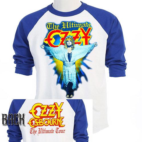 "OZZY OSBOURNE,""Ultimate Ozzy"" SIN TOUR T-603Blue"