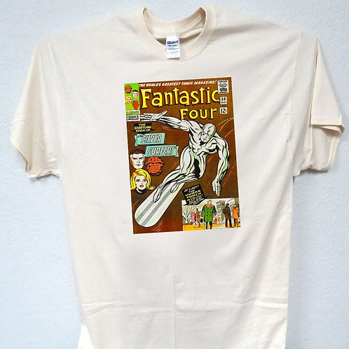 FANTASTIC FOUR,Marvel Comic #50,1st Silver Surf T-SHIRT,Size S-5XK, T-151