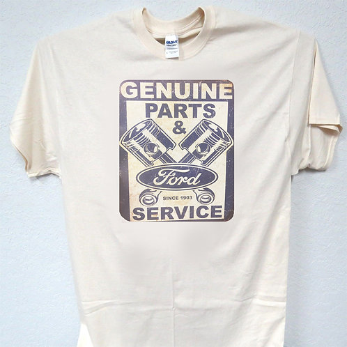FORD-GENUINE-PARTS-SERVICE-Cool-Ivory-T-Shirt-All-Sizes-T-1242Ivy