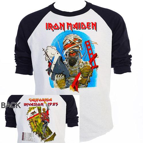 "IRON MAIDEN""California Invasion 85"" Tour CAMO"
