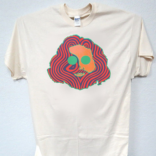 Gerry Garcia, Greatful Dead Face, Sizes: S-3X,Men's T-Shirt T-1592