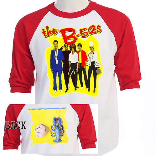"B-52's B52 s""Rock Lobster"" Retro Concert T-668"