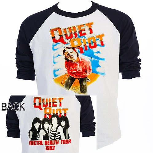 "QUIET RIOT,""Metal Health TOUR"" 83, T-587"