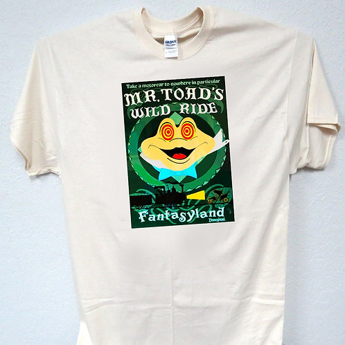 MR TOADS, Wild Ride Disney Awesome!! T-shirt all sizes T-263