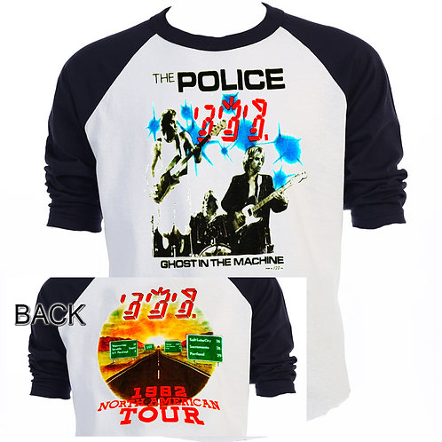POLICE Ghost in the Machine 82 Tour T-755