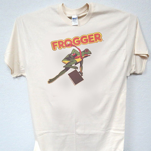 FROGGER, Old School ARCADE Design, Cool, T-Shirt Ivy SIZES S-5XL, T-1493 L@@K