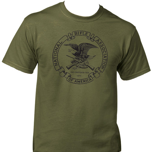 7e99c7d8 NRA,National Rifle Ass,2nd Amendment, Army Green T-SHIRT,S to 5X,T-1258