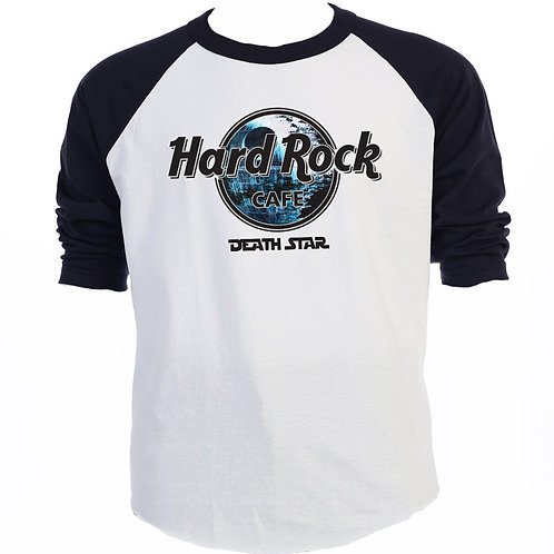 STAR WARS Hard Rock Death Star,Baseball,Hoodie,Tank Top,T-Shirt S-5X Men T-1568