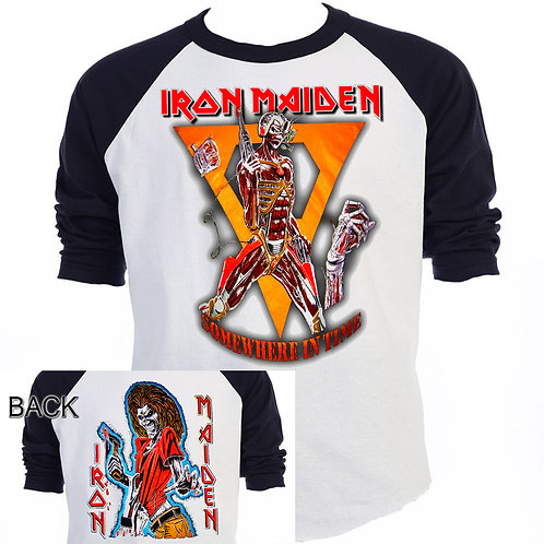 "IRON MAIDEN,""Somewhere in Time"" Tour T-530Blk"
