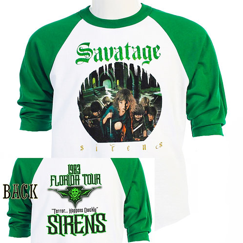 SAVATAGE,1983 Florida Tours,RETRO CLASSIC T-430