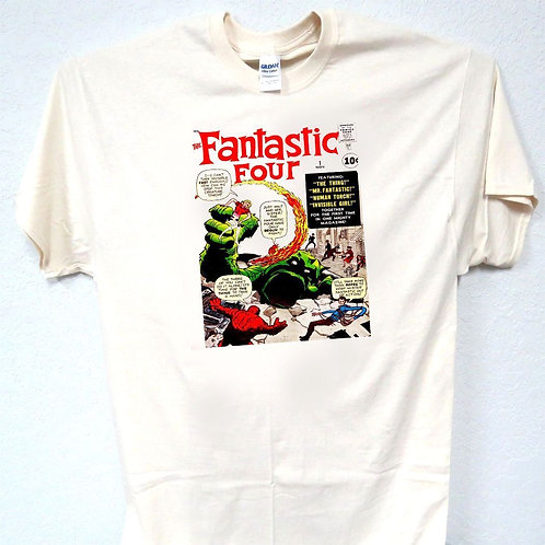 FANTASTIC FOUR,Marvel Comic #1 ,First Cover T-SHIRT,Size: S-5XL, T-149
