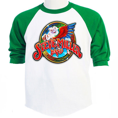 STEVE MILLER BAND, US Tour Baseball T-447Green