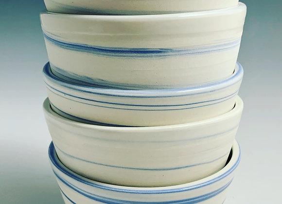 Blue Agate Bowl