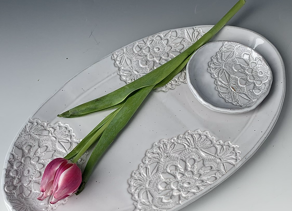 Platter and Dish (set of 2)