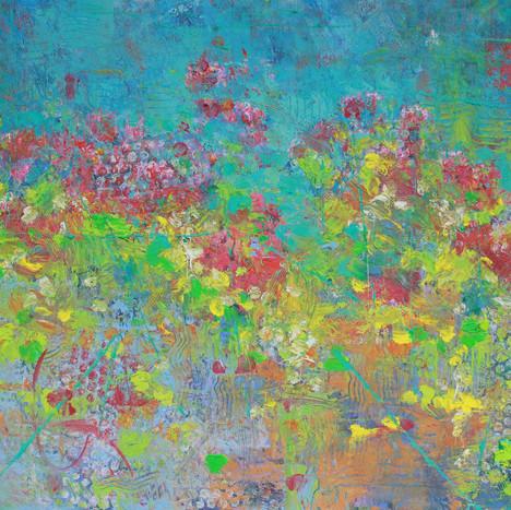 Abstract Dahlias II