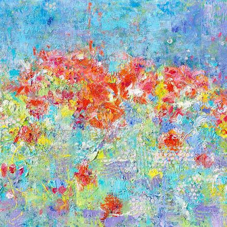 Abstract Dahlias