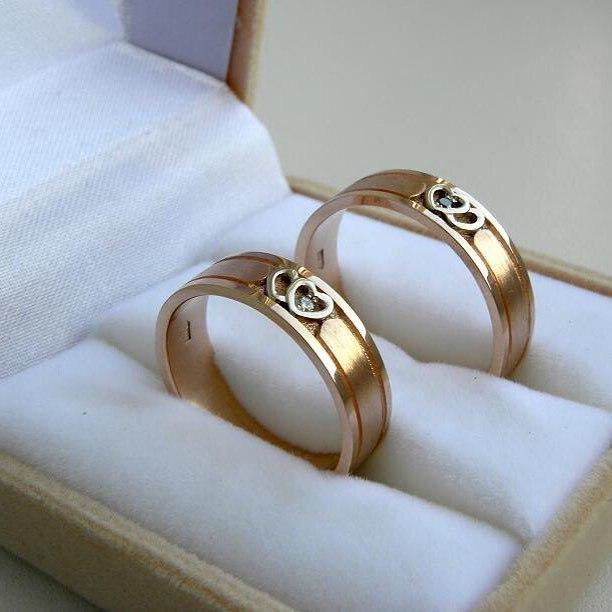 """Обручальные кольца """"Ювелиры Самары"""""""