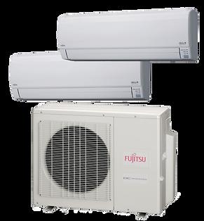 Fujitsu Ductless Split Heat Pump