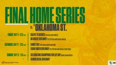 BSB OSU Weekend Series Promotion Schedul