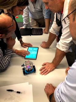 Robot workshop teamevent
