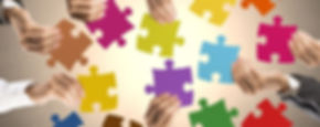 giochi e divertimento per ricreare il grande puzzle