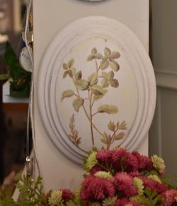 Resin Botanical Wall Art III