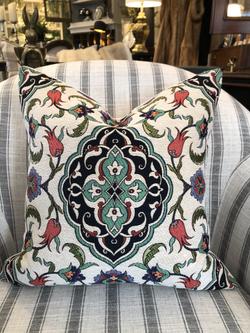 Medallion III - Cotton Floral Cushions