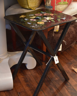 Vintage Hand painted Folding Table