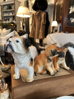 Assorted Bulldog Figurines