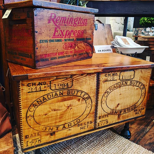 Assorted Vintage crates