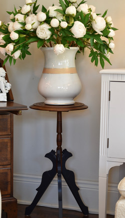 Vintage Painted Plant Stand