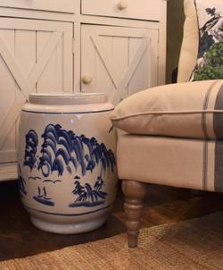 Blue & White Ceramic Garden School