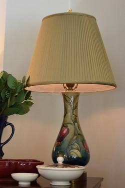 Antique Moorcroft Table Lamp