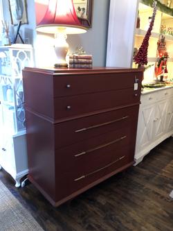 Painted MidCentury Dresser