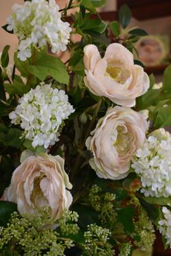 Herbaceous Peony, White Hydrangea, & Mini Berry